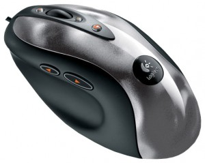 Logitech MX 518 Optical Gaming Mouse Metallic-Black USB